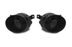 Nebelscheinwerfer  Smokeglas passend für Seat Mii Bj. ab 11, Skoda Citigo ab Bj 11, VW Amarok ab Bj. 10, Jetta Bj. 05-10, Scirocco ab Bj. 11, UP ab Bj.11, Golf 5 Bj. 03-09 und Load UP ab Bj. 14