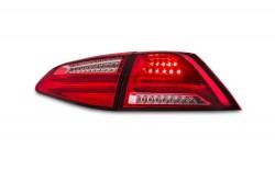 Lightbar Rückleuchten Heckleuchten Klarglas rot passend für VW Golf 7 ab Bj. 2013-