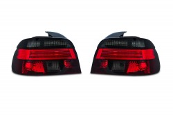 Rear lights clear glass red-black suitable for BMW 5 series E39 Limousine year 11.95-8.00