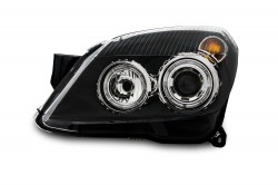 AE-Design Scheinwerfer mit integriertem Blinker passend für Opel Astra H ab Bj. 3.04-
