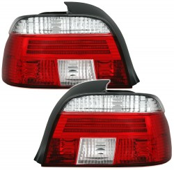 Rear lights clear glass red-white suitable for BMW 5 series E39 Limousine year 11.94-11.00