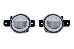 LED Nebelscheinwerfer klar passend für Nissan Sentra Bj. 04-10, Rogue Bj. 07-11, Maxima Bj. 07-08, Opel Movano B Bj. 10-, Renault Clio Bj. 98-, Espace 4 Bj. 02-, Koleos 08-, Laguna 2 Bj. 01-07, Master 3 Bj. 10-, Modus Bj. 04-, Megane 2 Bj. 02-