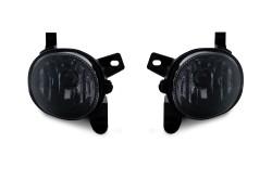 Nebelscheinwerfer,Nebelscheinwerfersatz, schwarz passend für Audi A4 (8K2 / 8K5) Bj. 07-, A5 (8T / 8F) Bj. 07-, A6 (4G2 / 4G5) Bj. 11-, Q3 Bj. 11-