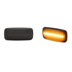 Side indicators, lightbar, smoke suitable for  Audi A2 01-05, A3 96-03, A4 95-00, A6 97-05, A8 96-02, TT 98-06