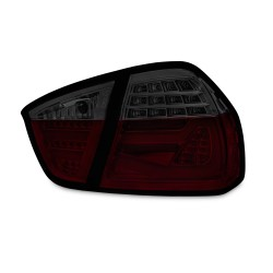 LED Lightbar Rückleuchten dunkelrot passend für BMW E90 Limousine Baujahr 2004-2008