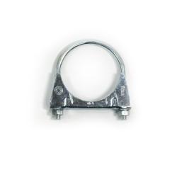 Stahl-Endschalldämpfer mit 2x 76mm DTM-Look Endrohren passend für BMW E46 6 Zylinder Bj. 98-00