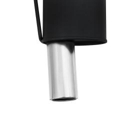 Stahl-Endschalldämpfer mit 1x 90mm Endrohren gerade passend für Renault Clio 3 ab Bj. 2.2005 -