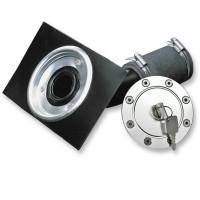 FuelNeck, Tankdeckel mit Einschweißblech und Tankstutzen, universal passend für universal