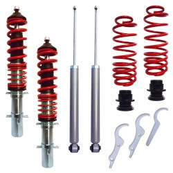 RedLine Coilover Kit Seat Leon/ Toledo (1M), exclusive Cupra/ TOP Sport suitable for Seat Leon and Toledo (1M) year 2000-2005, except Cupra- and TOP Sport