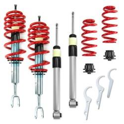 Redline Gewindefahrwerk passend für Audi A4 B6 und B7 (8e) 1.6, 1.8T, 2.0, 2.0 FSI, 2.4, 3.0, 1.9TDI, 2.5TDI, außer Fahrzeuge mit Niveauregulierung, Allradantrieb oder Sport-Paket