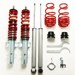 Redline Gewindefahrwerk passend für VW Polo Typ 6R 1.2, 1.4, 1.6, 1.4 TDi, 1.6TDi, ab Baujahr 2009-